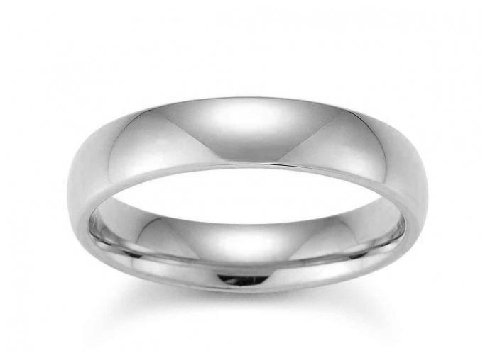 Weißgold ring ohne stein  Trauring Gerstner 28310/5 [5 mm] Weissgold [585] - Peter Kratz ...