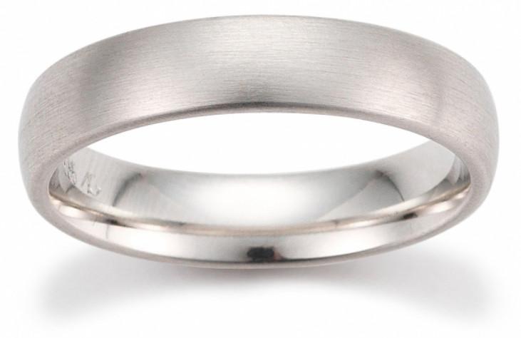 Weißgold ring ohne stein  Trauring Gerstner 28413/5 [5 mm] Weissgold [585] Edition 1 Seite15 ...