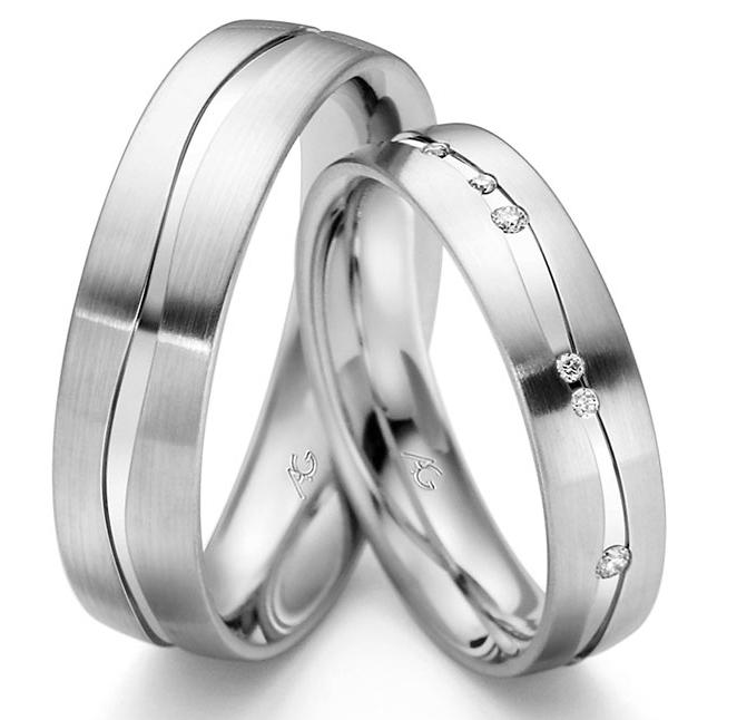 Weißgold ring ohne stein  Trauringe Gerstner 4/28421/5 - 28421/6 Ringbreite (der ring n hat ...